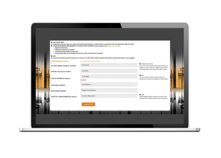 AppFlow Digital On-boarding Process Diagram